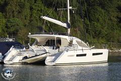 XOKA5633bs (www.linvoyage.com) Tags: ocean sunset sea fish water port marina thailand fishing bright yacht malaysia catamaran sail langkawi phuket hdr