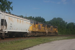 53475 (richiekennedy56) Tags: usa lawrence unitedstates kansas unionpacific sd70m railphotos up3887 douglascountyks up5145 donballcurve