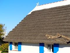 Les Saintes-Maries-de-la-Mer (Charles.Louis) Tags: paca provence tradition maison camargue patrimoine habitation lessaintesmariesdelamer chaume chaumire bourrine