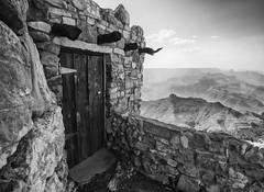 Watchtower at Grand Canyon National Park (www.arayphoto.com) Tags: park arizona blackandwhite bw tower architecture blackwhite grandcanyon canyon architect national watchtower marycolter colter