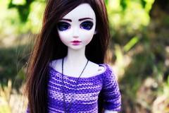 Lillian (hadley_midge) Tags: bjd mystic kids lillian doll dolls collector beauty beautifull handmade sweater summer pretty eyes 2016 hobby photo
