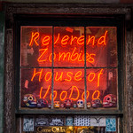 Reverend Zombie's House Of Voodoo. New Orleans.
