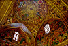 Vank Church (Poria) Tags: city roof urban art church beautiful architecture painting persian arch view top religion indoor christian ایران isfahan اصفهان معماری persianart persianarchitecture