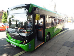 SN16 OOV (26043) (brendan315) Tags: park new bus green ride 200 pr 16 winchester brand mmc reg stagecoach parkandride enviro enviro200mmc e200mmc 16reg