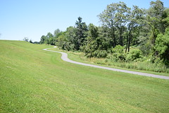 Winding Road (Sam DeGenova) Tags: sidewalk road park nature vanishing winding