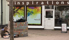 Dawlish Inspirations (thorley_lee) Tags: street portrait art photography seaside holidays artists inspirations dawlish 50mmlens canon400d