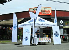 Our All Our Honour (knightbefore_99) Tags: commercialdrive thedrive dumb stupid text phone cell mobile drone vancouver eastvan italian italy car free day party 2016 june waste whitecaps football futbol all honour