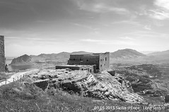 Erice (Lord Seth) Tags: 2015 d5000 erice lordseth sicilia bw biancoenero borgo italy medievale montecofano nikon