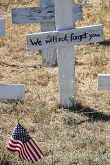 IWMC6996323985000742822 (Matt Tirrell) Tags: color canon memorial war cross flag iraq ps american memory wewillnotforgetyou