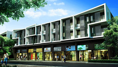 ภาพบรรยากาศโครงการ อาคารพาณิชย์ บี อเวนิว วัชรพล | B Avenue Watcharapol