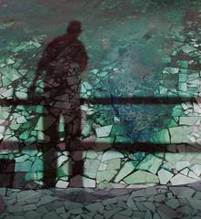 Sombra (cresarteecu) Tags: shadow silhouette sombra mosaico silueta abstracto surrealismo