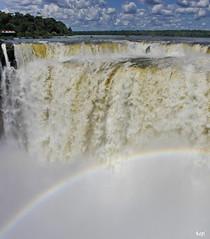 Iguassu 67 (Rolf Piepenbring) Tags: argentina waterfall rainbow wasserfall iguazu regenbogen iguassu argentinien