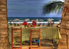 The View From Paradise (Ken Yuel) Tags: sun mexico paradise surf wind surfing nayarit pacificocean beaches umbrellas sayulita viewfromparadise digitalagent kenyuel