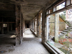 abandoned mental hospital (porrectus) Tags: urban abandoned canon hospital suburban exploring ghost sightseeing poland powershot haunted stalker jewish ghosts psychiatric mental a1200 otwock zofiwka extremal zofiowka