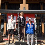 Panorama Miele Cup Spring Series 2012 - Day 1 Men's J1 Slalom Podium 1. Griffin Brown; 2.  Jack Auty; 3. Martin Grassic PHOTO CREDIT: Brandon Dyksterhouse