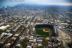 Wrigley Field Stadium - Chicago Cubs (Abdullah alJaber > AJ.SA) Tags: chicago art field america aj photography fly us nikon downtown photographer stadium united aerial helicopter saudi arabia pro cubs states wrigley hamad ksa abdullah       aljaber ajsa       d7k   d7000  mobt3th wwwajsa
