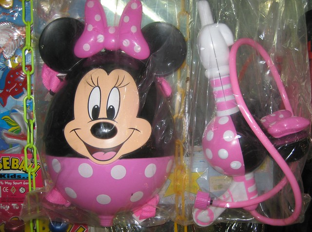 Water pistol Minnie Mouse