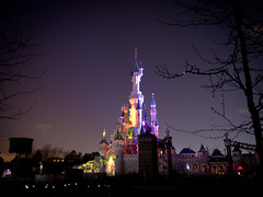 The Happiest Place on Earth (jp3g) Tags: paris colour castle stars happy dusk disneyland disney mickey panasonic cinderella minnie g3 eurodisney