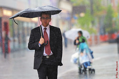 'Help For Heroes' (Tony Margiocchi (Snapperz)) Tags: england water rain weather umbrella nikon wristband luton d3 deluge torrential tonymargiocchi nikond3 helpforheroes httpwwwhelpforheroesorguk