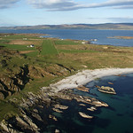 Final approach at Gigha from west to east