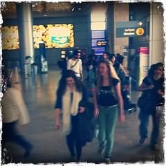 Ein Wiedersehn in Israel - auf dem Flughafen