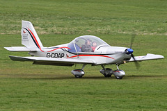 G-CDAP (QSY on-route) Tags: city manchester airport barton airfield egcb gcdap 31032012