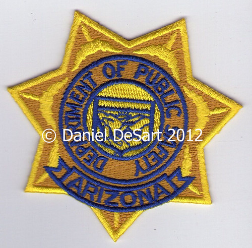 Arizona Department of Public Safety (Badge Variant 2)