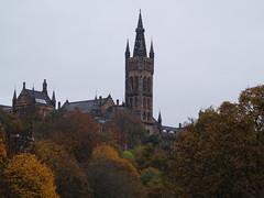 University of Glasgow (divnic) Tags: trees leaves scotland glasgow autumnal kelvingrovepark universityofglasgow