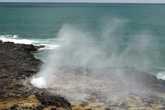 Spouting Horn 11 (Journey of A Thousand Miles) Tags: seascape hawaii kauai 2012 poipubeachpark