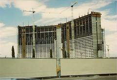 Construction of Mirage Las Vegas 1988 (frankasu03) Tags: las vegas early construction steve 1988 super tourist days resort strip 80s mirage wynn destinations