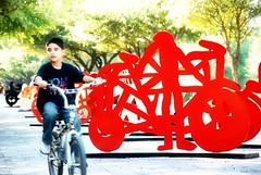 Bicicletas. (Orcoo) Tags: parque bike bicicleta paseo bicicletas orton parquefundidora orcoo oswaldoordoez efectoorton