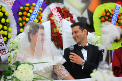 EVET  :) (B@ni) Tags: wedding bride bridegroom yasin banu nikah bni gelin damat broadcastertr