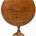 9. Walnut Tilt Top Tea Table