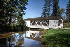 Stayton-Jordan Bridge (sandyhd) Tags: stayton oregoncoveredbridges