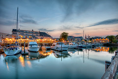 Salem Waterfront (todd landry photography) Tags: architecture boats photography nikon cityscape waterfront massachusetts salem todd hdr landry d700