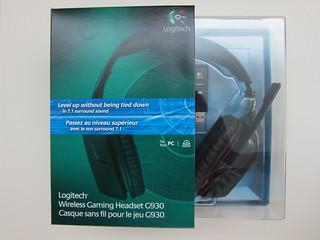 Logitech G930 Wireless Gaming Headset