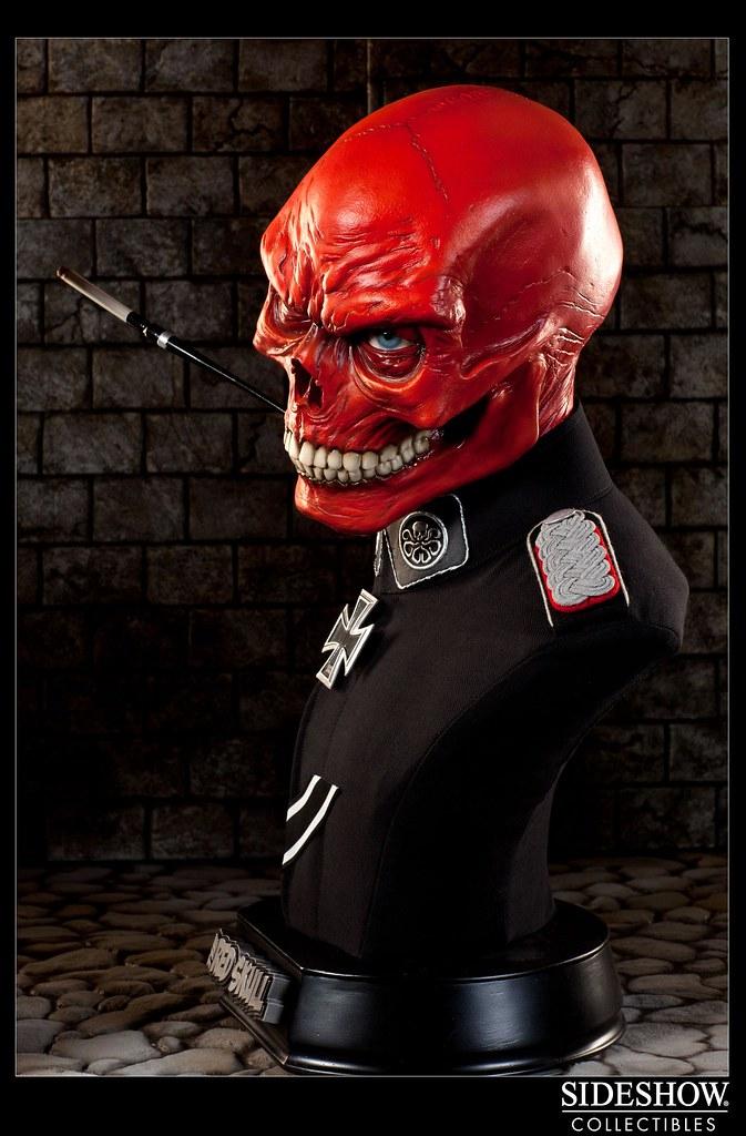 絕對的邪惡!Sideshow 推出『紅骷髏』1:1胸像