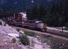 Canadian Pacific Railway (R R Horne) Tags: railroad train bc trains cp cpr railroads frasercanyon alexandrabridge sd40 fav10