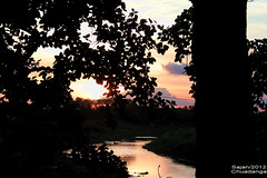 '...       ..- evening crawls in like the sound of dews.. (sajan-164) Tags: sunset das bangladesh ruver chuadanga mathabhanga jibanananda sajan164