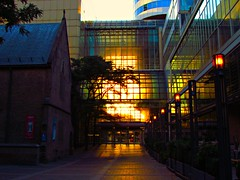 Sunrise, Eaton Centre, Toronto, ON (Snuffy) Tags: toronto ontario canada sunrise eatoncentre eliteclub