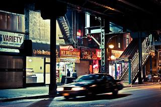 New York facets - Marcy av. station