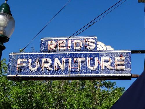 MI, Petoskey Reidu0027s Furniture Neon Sign
