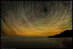 Emprie Bluff North Star (Kenneth-Snyder) Tags: longexposure summer stars nationalpark michigan lakemichigan explore astronomy sleepingbeardunes startrails northstar nationallakeshore benziecounty kennethsnyder empirebluff plattebay puremichigan canon5dmarkii unifiedphoto unifiedphotography