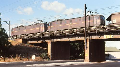 NSWGR_BOX006S14 - 4615, 4638 at Parramatta