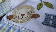 Leo (DoNa BoRbOlEtA. pAtCh) Tags: baby handmade application bebe jogodelenol mantasoft donaborboletapatchwork denyfonseca