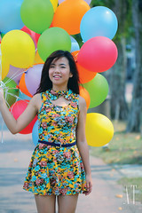 Belle (AT.Photography) Tags: life morning pink blue light shadow portrait favorite sun plant motion tree green art beach beautiful smile composition contrast pose garden walking print fun happy photography daylight photo amazing model eyes colorful asia pretty purple heart bright wind sweet bokeh modeling outdoor walk great balloon models chinese perspective young peoples malaysia jb roadside lovely staring 2012 belon dangabay 100l 60d