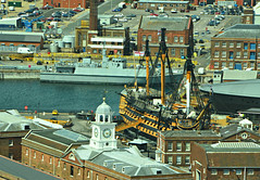 Portsmouth Historic Dockyards (Eleanor (WHU)) Tags: spinnaker thelook portsmouthharbour thethreeangels shieldofexcellence goldstaraward highqualityimages nikonflickraward historymystery certifiedphotographerlevel1 topphotoexpertlevel2 anythingnikonexceptpeople englandnewengland