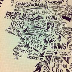 Disciplines #biblenote (Paul Goode) Tags: lotsofnotes instagram