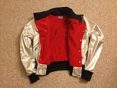 IBN JEANS Space Shuttle Jacket (IBN JEANS) Tags: world new winter light mars reflection fall boys bike sport youth speed silver out this reflecting reflex clothing high aluminum differ