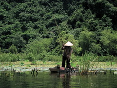 Yen River (jleathers) Tags: river vietnamese rice vietnam hanoi perfumepagoda myduc northvietnam yenriver nónlá